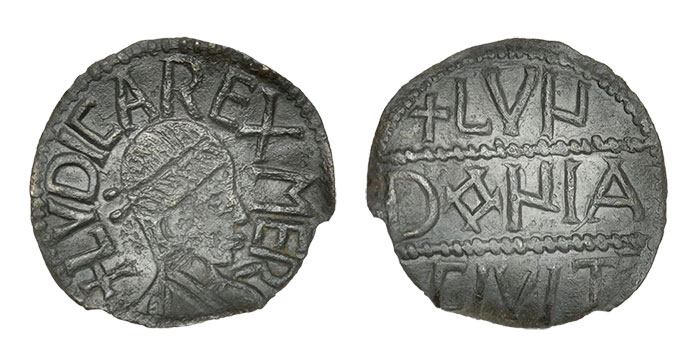 LudicaAnglo SaxonPenny