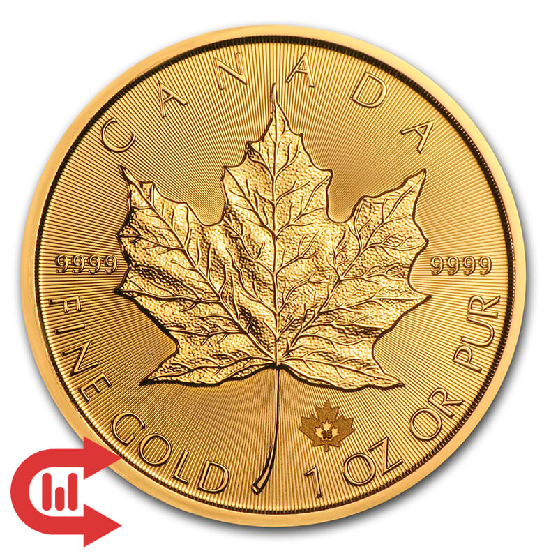 Monedas de Oro Maple Leaf